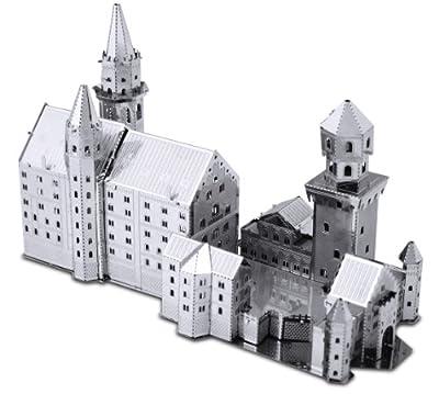 Set of 2 Metal Earth 3D Laser Cut Models: Neuschwanstein Castle & Himeji Castle