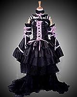 Onecos Chobits Chii Black Dress Cosplay Costume