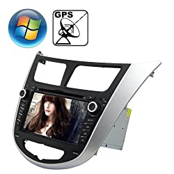 See Rungrace 7.0 inch Windows CE 6.0 TFT Screen In-Dash Car DVD Player for Hyundai Verna with Bluetooth / GPS / RDS Details