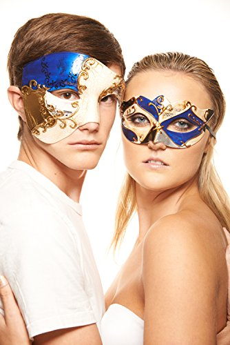 His and Hers Masquerade Masks (Set of 2)
