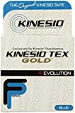 "Kinesio Tex Gold Wave, Latex-Free, Water-Resistant - Blue, 2"" X 16.4' #25024"