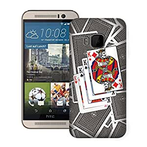 Zapcase Printed Back Case For Htc One M9