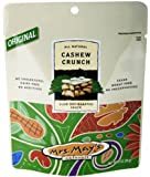 Mrs. May's Dry-Roasted Snack, Cashew Crunch, 5-Ounce Pouches (Pack of 12)
