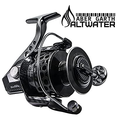 Corrosion Resistant Spinning Reel for Saltwater and Freshwater Fishing by Saltwater Reel
