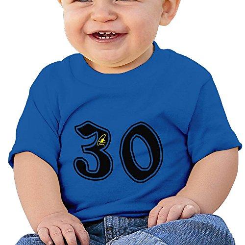 Bro-Custom NO. 30 Autograph Kid's Fashion Tshirt RoyalBlue Size 18 Months