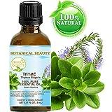 THYME ESSENTIAL OIL. 100% Pure Therapeutic Grade, Premium Quality, Undiluted. 0.17 Fl.oz.- 5 ml.