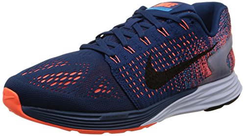 Nike Lunarglide 7 Sz 12 Mens Running Shoes Blue New In Box