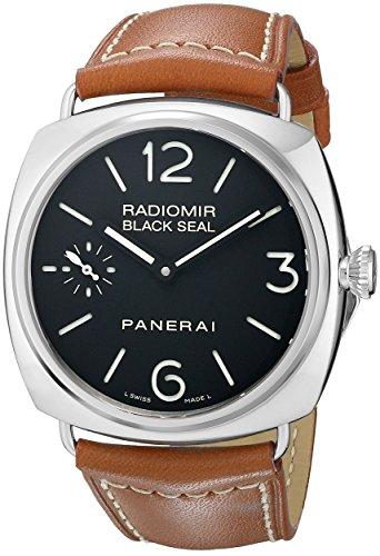 Panerai Panerai Men's PAM00183 Radiomir Black Seal Black Dial Watch