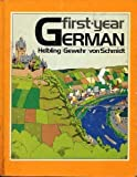 First-year German (0030121019) by Robert E Helbling