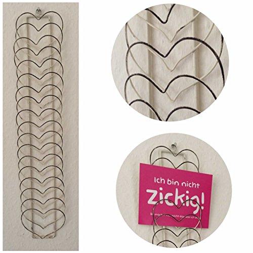 ls design wand kartenhalter fotovorhang fotohalter fotowand shabby vintage herz. Black Bedroom Furniture Sets. Home Design Ideas