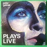 PETER GABRIEL Plays Live DBL LP Vinyl & Cov VG+ 1983 2 GHS 4012