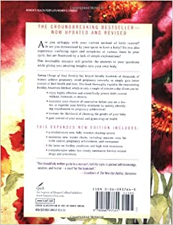 Taking Charge of Your Fertility: The Definitive Guide to Natural Birth Control, Pregnancy Achievement, and Reproductive Health (Revised Edition): Toni Weschler: 9780060937645: Amazon.com: Books
