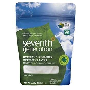 Set A Shopping Price Drop Alert For Seventh Generation Auto Dish Pacs, Free and Clear, 20-Count, Packaging May Vary