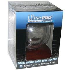Buy MLB Dark Wood Base Baseball Holder by Ultra Pro