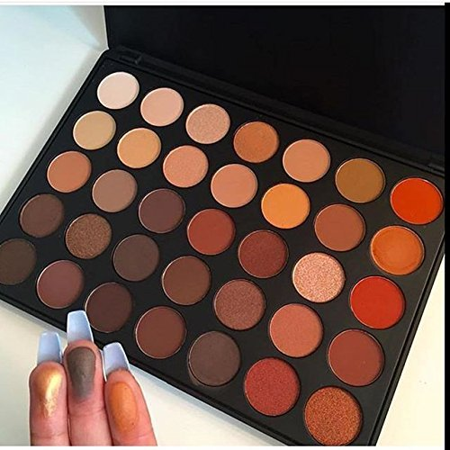 Morphe Brushes 350 - 35 Color Nature Glow Eyeshadow Palette | EBay