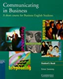 img - for Communicating in Business: A Short Course for Business English Students, American English Edition book / textbook / text book