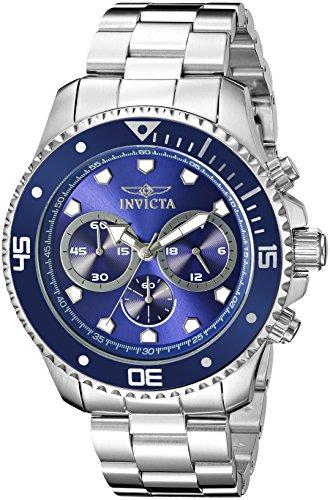 Invicta Men's 21788 Pro Diver Analog Display Quartz Silver Watch