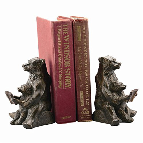 Bear Bookends - Mom and Cub Reading Lesson