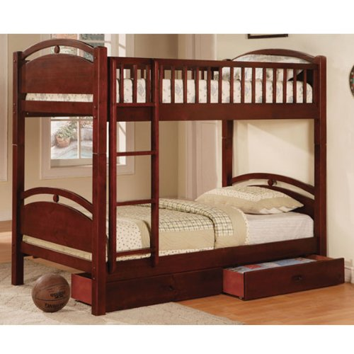 Simple Bunk Beds 6055 front