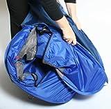 Bushbaby Nestegg Pop-up Travel Cot Blue