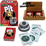 Deluxe Pit with Bell! Plus FREE Wooden Box!