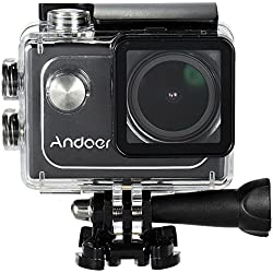 Andoer 4K Wifi 30FPS 1080P 60FPS HD Pieno DV 16M LTPS 2.0in Schermo LCD Impermeabile 173 DVR ° Grandangolare Outdoor Action Sports Camera Camcorder Digitale Cam Video Car
