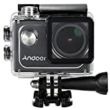 Andoer【Wifi機能 30m防水 4K 30FPS 1080P 60FPS フルHD 2.0インチLTPS LCDスクリーン】防水スポーツカメラ アクションカメラ DV 多機能防水ビデオカメラ 173度広角レンズ Sony IMX179センサー H.264ビデオ圧縮 ライディング、スキー、サーフ、ダイビングといったアウトドアスポーツや空撮に最適 ドライブレコーダーとしてもいい