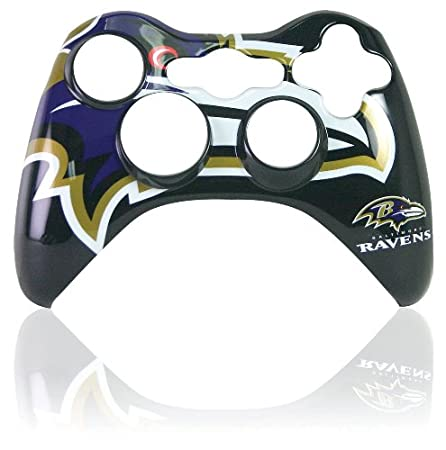 Xbox 360 Official NFL Baltimore Ravens Controller Faceplate