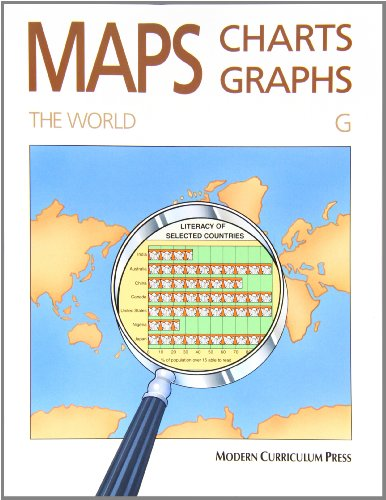 MAPS, CHARTS AND GRAPHS, LEVEL G, THE WORLD