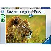 Ravensburger Puzzles King Of Savannah, Multi Color (1500 Pieces)