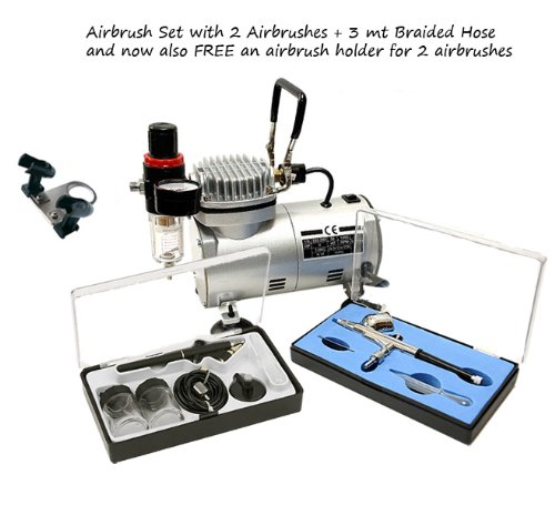 Complete D/Action Airbrush Kit W/2 Airbrush