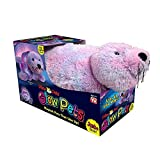 "Pillow Pets Glow Pets JUMBO 18"" - Shimmering Seal (Purple)"