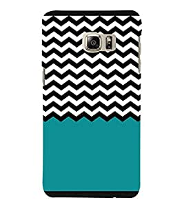 Zig Zag Pattern 3D Hard Polycarbonate Designer Back Case Cover for Samsung Galaxy Note 7 : Samsung Galaxy Note 7 N930G : Samsung Galaxy Note 7 Duos