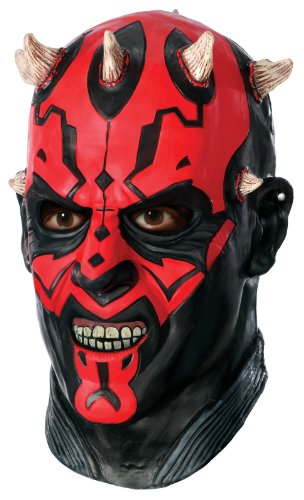 Star Wars Darth Maul Deluxe Adult Overhead Latex Mask