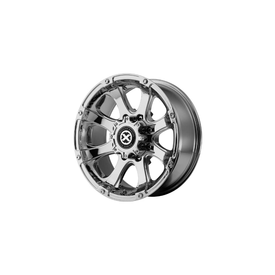American Racing ATX Ledge 16x8 Chrome Wheel / Rim 6x5.5 with a 0mm Offset and a 108.00 Hub Bore. Partnumber AX18868060200 Automotive