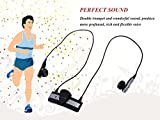 DBPOWER® Mini Stereo Wireless Bluetooth Earbuds Headsets Headphones w/Microphone In-the-ear A2DP Sports & Exercise Handsfree Earphones Earpieces for iPhone 5s 5c 4s 4 iPad 2 3 4 New iPad iPod Android Samsung Galaxy S5/S4/S3/S2 HTC Huawei Nokia Smart Phones Bluetooth Enabled Devices (Black)