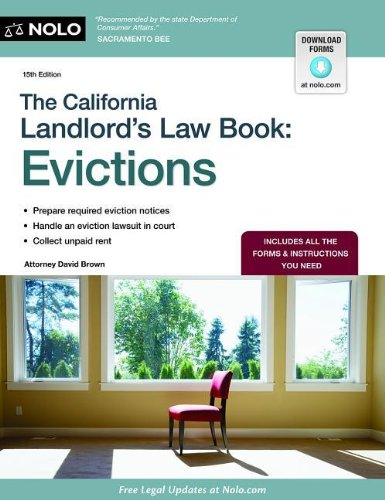 Image for The California Landlord's Law Book: Evictions (California Landlord's Law Book Vol 2 : Evictions)