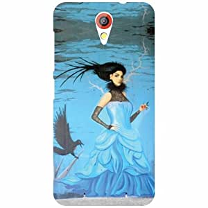 HTC Desire 620 Back Cover - Beauty & Lady Designer Cases