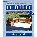 U-Bild 878 Planter Bench Project Plan