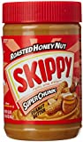 "Skippy Peanut Butter, Roasted Honey Nut, Super Chunk, 16.3 oz  ""Pack of 2"""
