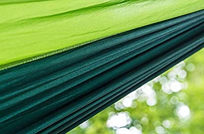 MLG Portable Light Weight Parachute Nylon Fabric Travel Camping Hammock