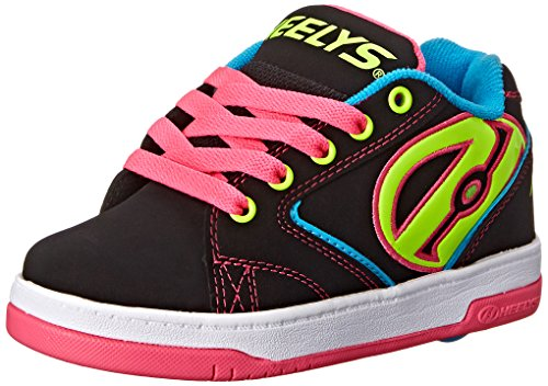 HeelysPropel 2.0 770512 - Sneakers da ragazza' , Multicolore (multi (Black/Neon Multi)), 32