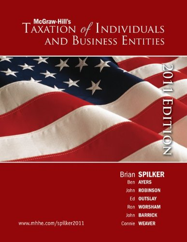Loose-leaf Taxation of Individuals and Business Entities 2011 edition