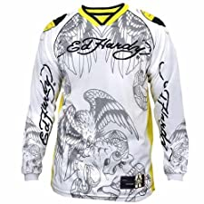 Men's Ed Hardy Motorsports Biker Racing Motorcycle Jersey