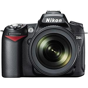 51yer2cw-8L - Affordable Nikon D90 12.3MP Digital SLR Camera - Buy and Sell