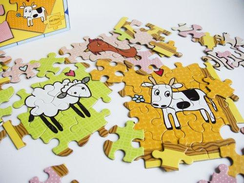 Fantastic Farmyard - 100 Piece Jigsaw Puzzle
