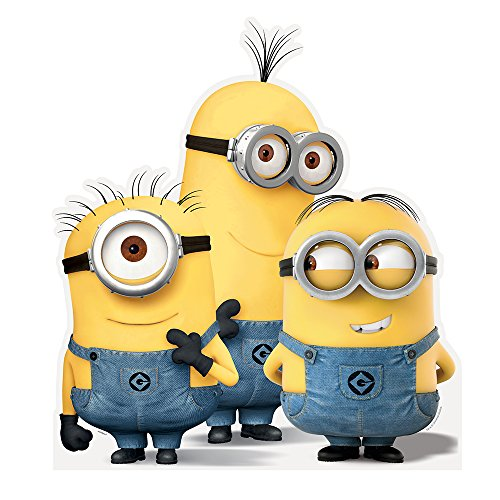 36-Large-Cardboard-Cut-Out-Despicable-Me-Minions-Decoration-Group