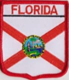 United States of America Florida State Flag Embroidered Patch (a353)