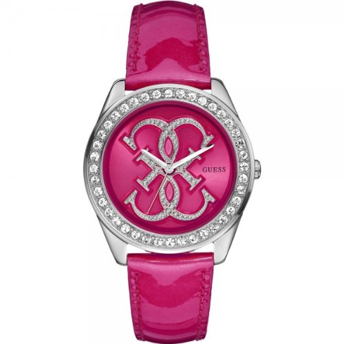 Guess W85121L1 Ladies Trend G SPIN Pink Watch