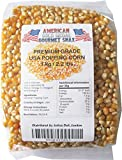 Gourmet American Popping Corn (1 x 1kg) Popcorn... Low in Fat, Carbohydrate and Calories